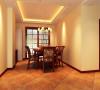 国际城四期-320平米别墅装修-餐厅效果图