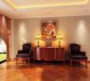 国际城四期-320平米别墅装修-休闲厅效果图