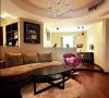 给力的圆客厅,时尚简约的装修风格,人见人爱,暖暖的色调,非常有品味。