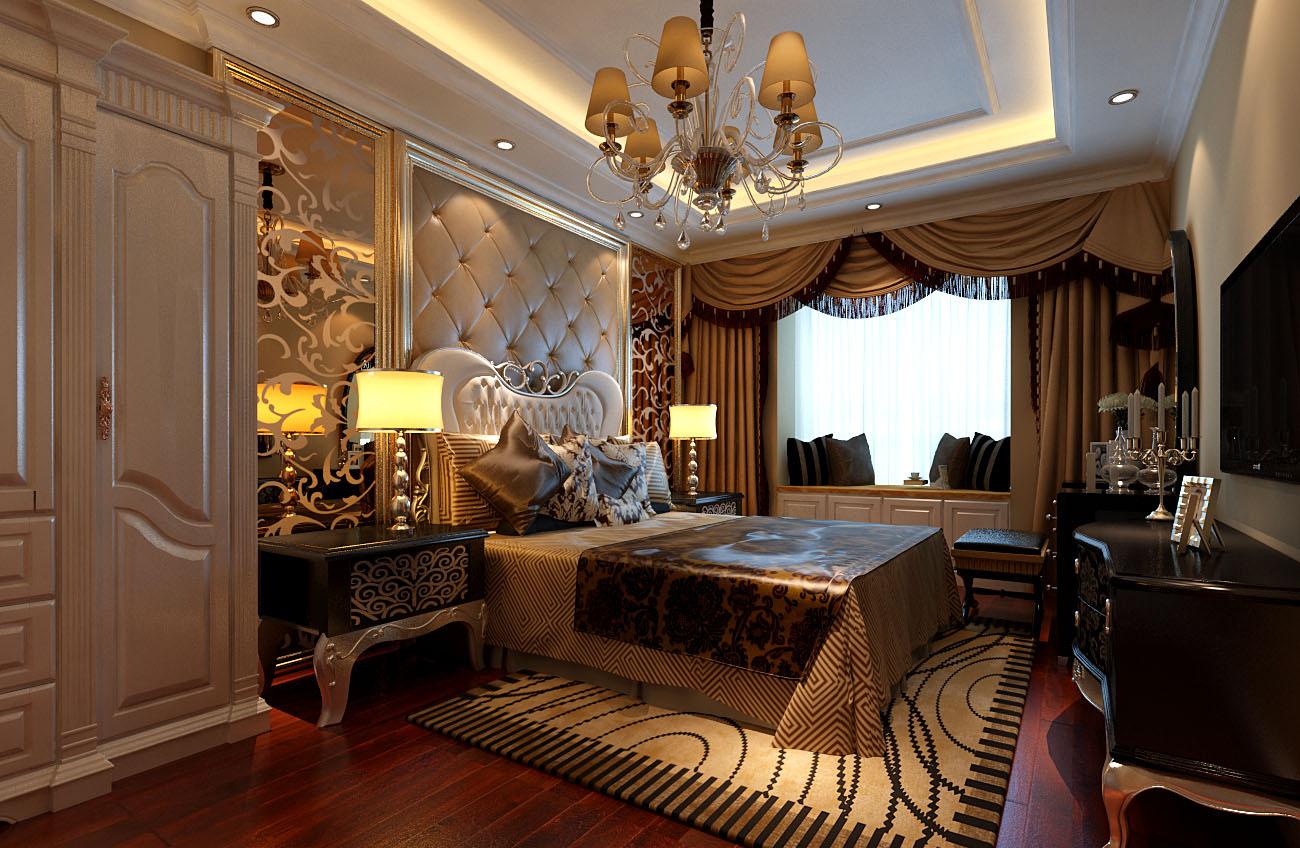 简约 欧式 二居 白领 收纳 旧房改造 80后 小资 卧室图片来自实创装饰百灵在低调奢华9.6万装修银地家园欧式的分享