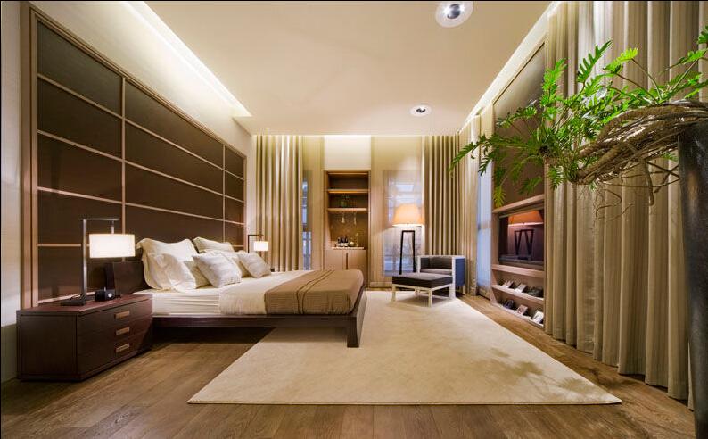 简约 二居 卧室图片来自佰辰生活装饰在7万造就舒缓松快生活空间的分享