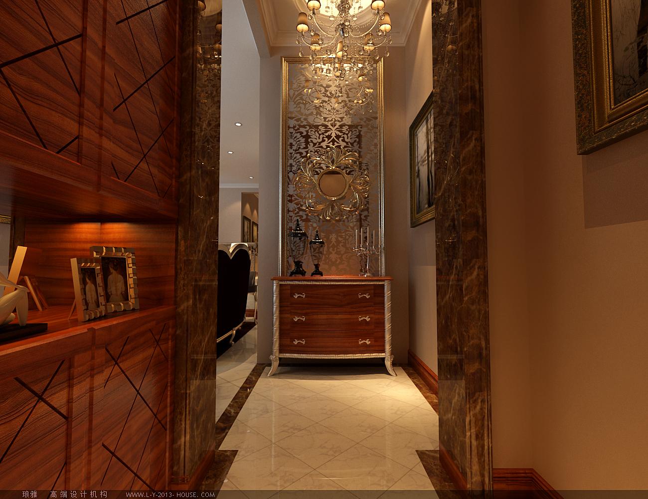 玄关图片来自xushuguang1983在水色时光210平米奢华欧式别墅的分享
