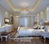 卧室:时尚与温馨并肩--精粹的美,跨越世纪,经过巧妙的拆解重组变幻,设计师以另一种时代符号演绎出不一样的现代意象。