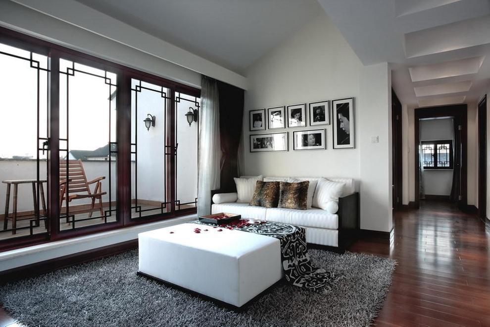 简约 混搭 别墅 客厅图片来自刘建勋在混搭别墅效果的分享