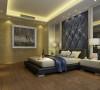 简明稳重卧室设计