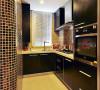 超给力的厨房,虽然空间比较小,但是做成开放式的看起来也没有那么压抑