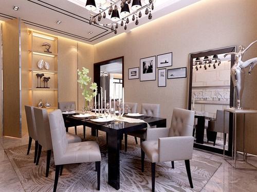 简约 欧式 餐厅图片来自太原香港豪装在魅力的分享