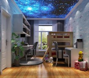 简约 欧式 三居 白领 80后 远洋东方 高度国际 时尚 白富美 儿童房图片来自北京高度国际装饰设计在远洋东方公馆140平简欧公寓的分享