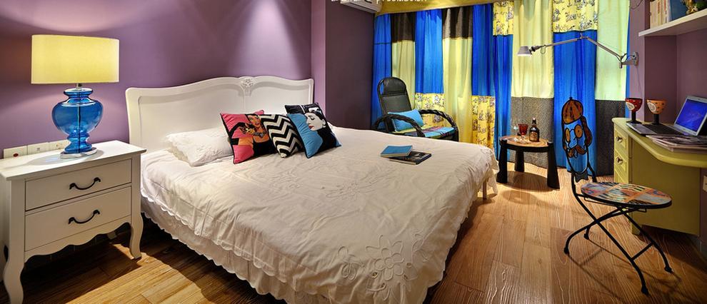 混搭 二居 收纳 卧室图片来自刘建勋在贰号城邦混搭效果的分享