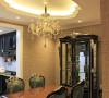 搭配古典造型现代工艺的家具使得及打造了传统欧式的端庄大气又使得整个作品不那么沉闷完全符合业主的性格喜好