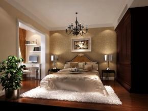简约 现代 时尚 白富美 高度国际 二居 白领 80后 水色时光 卧室图片来自北京高度国际装饰设计在水色时光98平简欧公寓的分享