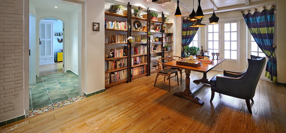 混搭 二居 收纳 书房图片来自刘建勋在贰号城邦混搭效果的分享