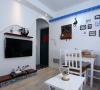 42平米地中海婚房装修案例
