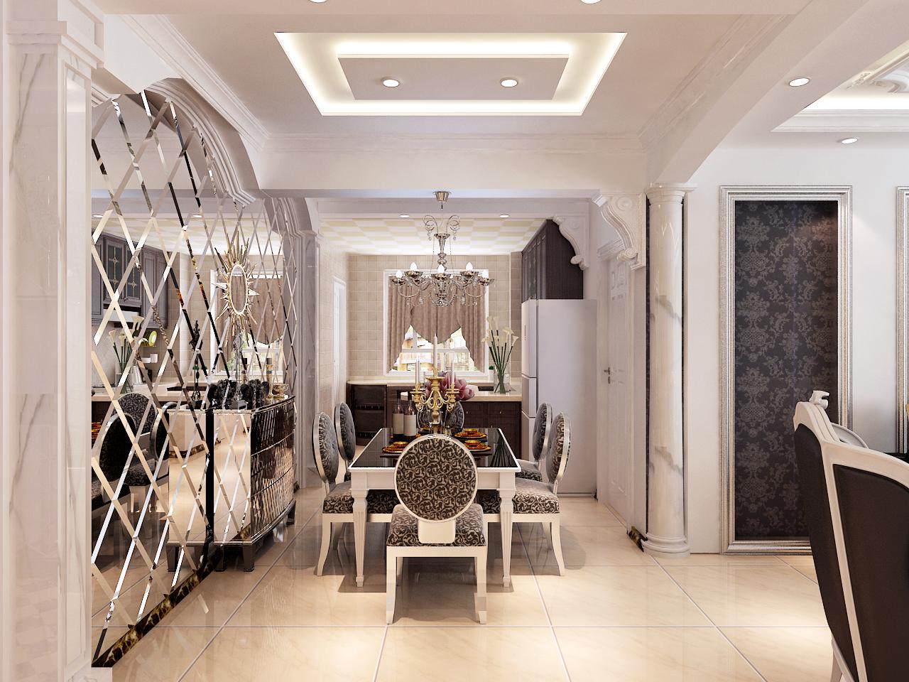 三居 白领 80后 小资 混搭 餐厅图片来自晋级装饰小金在瑞士风情小镇赏析的分享