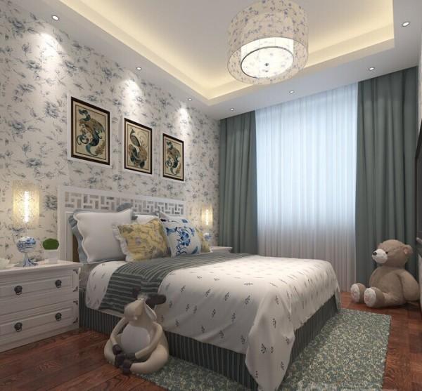 怡丰新都汇60平米新中式风格两室装修效果!小空间大制作!