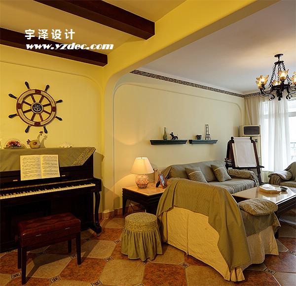 地中海 二居 三居 别墅 白领 收纳 旧房改造 80后 小资 客厅图片来自周楠在摩卡之味的分享