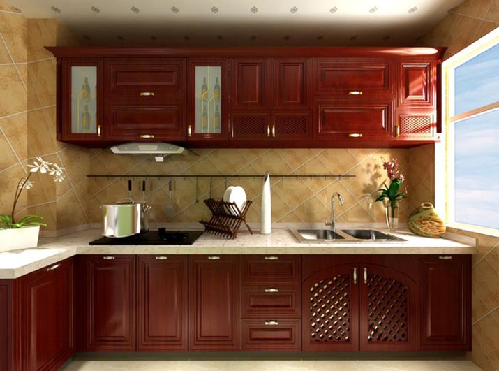 美式 80后 小资 厨房图片来自武汉东易日盛在南湖玫瑰湾--新古典--的分享