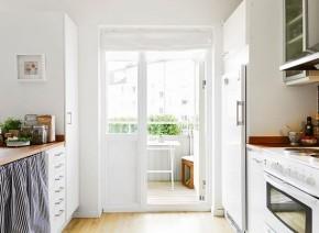 北欧 简约 二居 白领 新房装修 80后 小资 阳台图片来自居佳祥和装饰在北欧简约装修案例的分享