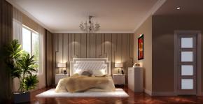 简约 欧式 三居 白领 80后 鲁能7号院 高度国际 时尚 白富美 卧室图片来自北京高度国际装饰设计在鲁能135平简约欧式的分享