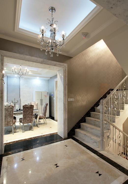 新古典 二居 三居 别墅 白领 收纳 旧房改造 80后 小资 楼梯图片来自周楠在梦回凡尔赛的分享