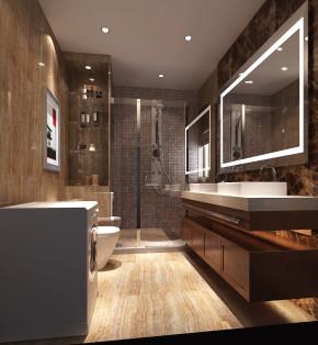 简约 欧式 三居 白领 80后 鲁能7号院 高度国际 时尚 白富美 卫生间图片来自北京高度国际装饰设计在鲁能135平简约欧式的分享