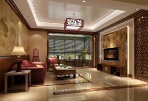 简约 美式 高度国际 时尚 白富美 跃层 白领 别墅 80后 客厅图片来自北京高度国际装饰设计在中景江山赋美式跃层的分享