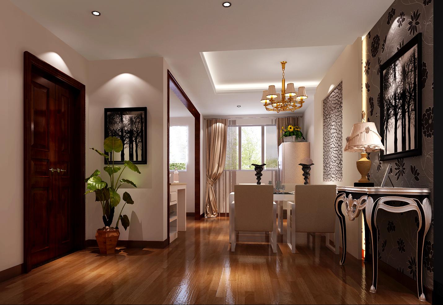 混搭 三居 白领 80后 白富美 时尚 高度国际 远洋一方 简约 餐厅图片来自北京高度国际装饰设计在远洋一方127平混搭风的分享