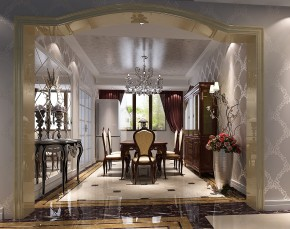 简约 奢华 高度国际 时尚 白富美 低调 二居 白领 80后 餐厅图片来自北京高度国际装饰设计在鲁能7号院低调奢华公寓的分享