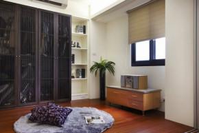 中式 简约 二居 收纳 新房装修 小资 衣帽间图片来自居佳祥和装饰在79平中式新风装修案例的分享