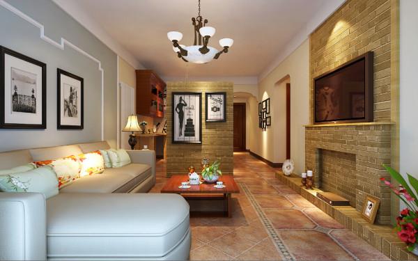 从入户直接到客厅的位置比较狭长,设计师设计了多功能的餐厅,集餐厅学习委一体。既美观时尚,又非常实用。