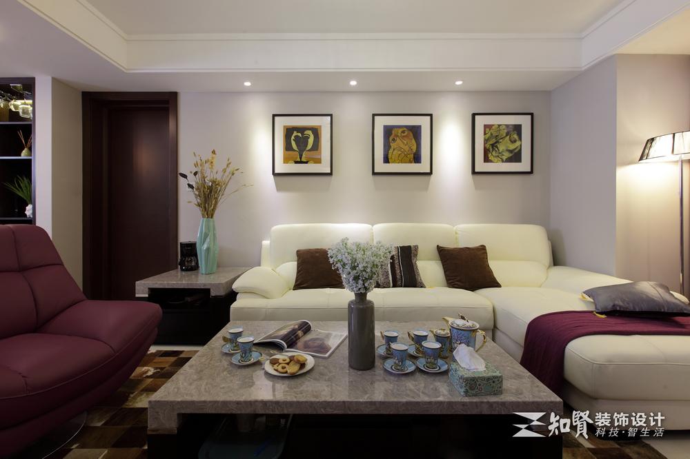 别墅 白领 80后 小资 客厅图片来自上海知贤设计小徐在原创空间  上演光阴故事的分享
