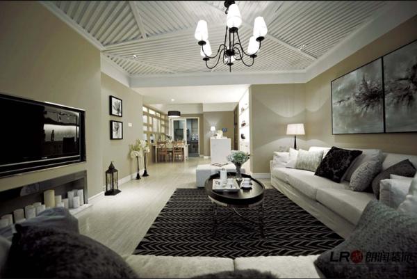 现代客厅细节,色调搭配简洁大方,细节处理细致完美,居家的温馨静谧的感觉都在这里了!