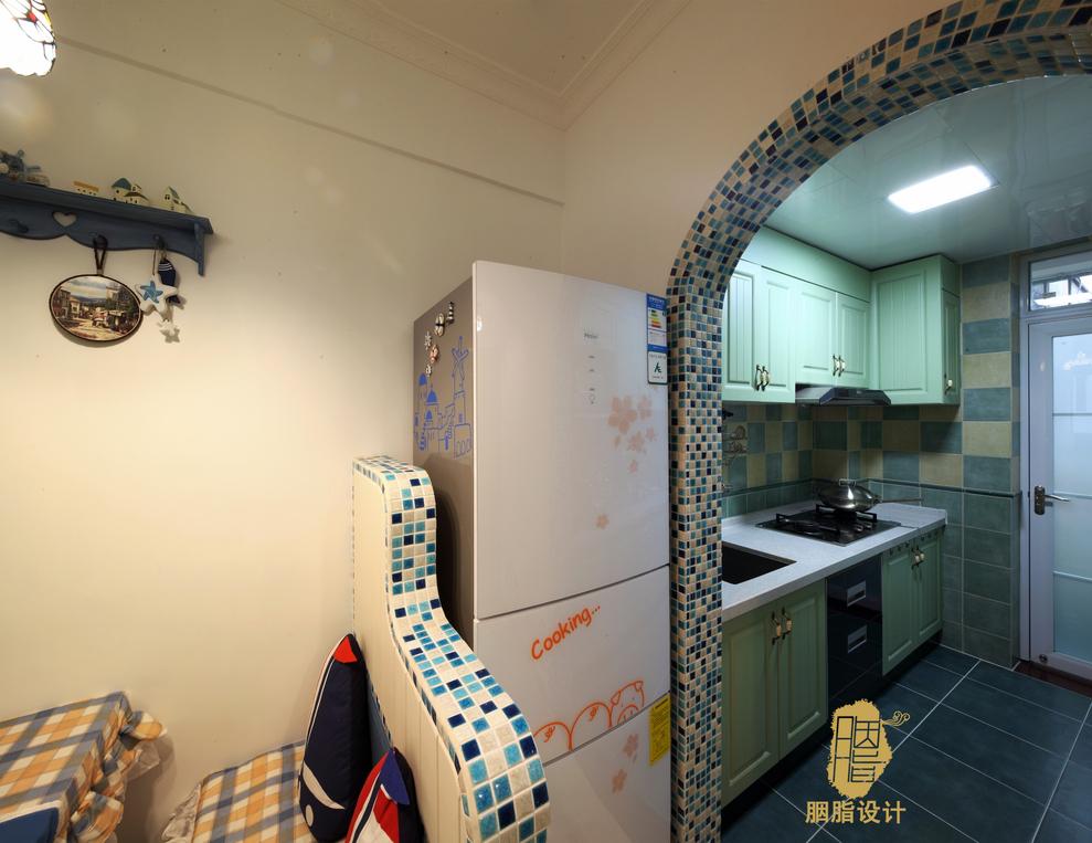 舒适 温馨 屌丝 定制家装 公主房 文艺青年 收纳 厨房图片来自周楠在幸福猪的地中海婚房的分享