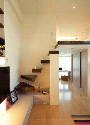 简约 北欧 二居 白领 80后 小资 楼梯图片来自居佳祥和装饰在30平Loft北欧装修案例的分享