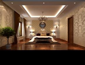 欧式 新古典 高度国际 时尚 白富美 别墅 白领 80后 尚湖世家 卧室图片来自北京高度国际装饰设计在中海尚湖世家欧式新古典的分享