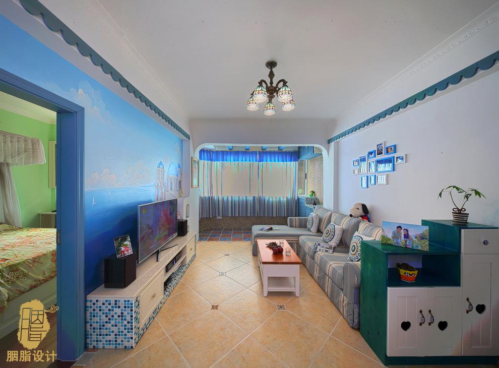 舒适 温馨 屌丝 定制家装 公主房 文艺青年 收纳 客厅图片来自周楠在幸福猪的地中海婚房的分享