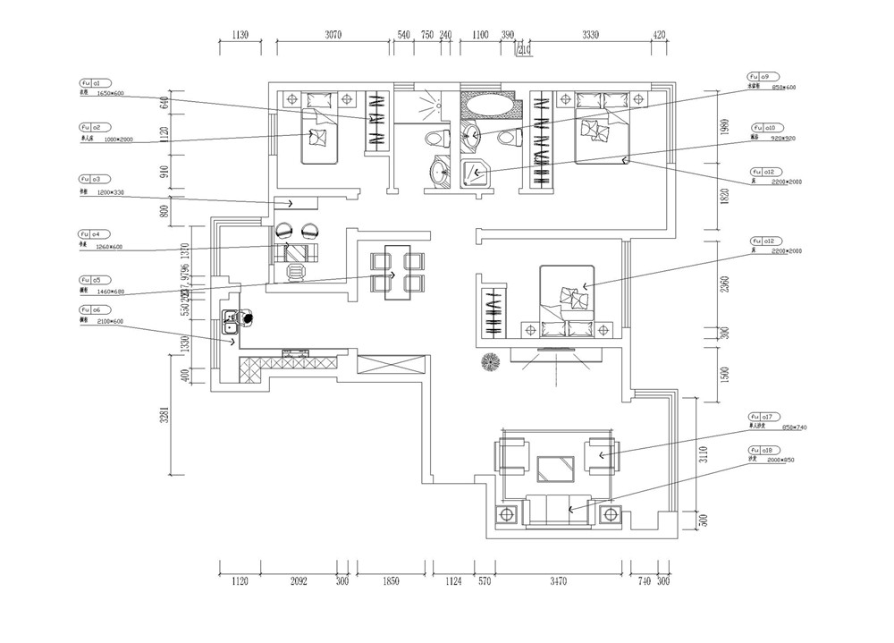 简约 三居 白领 收纳 旧房改造 80后 小资 中式 衣帽间图片来自阳光力天装饰梦想家更爱家在生态城 3室2厅2卫100.30㎡的分享