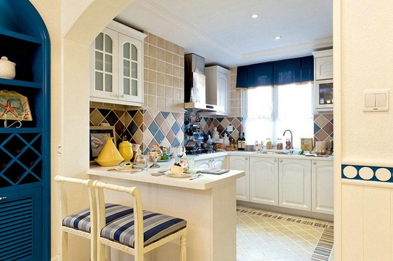 四居 地中海 厨房图片来自实创装饰晶晶在180平别墅地中海动人心魄的分享
