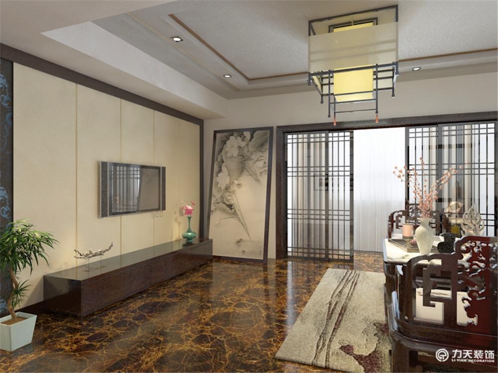 简约 三居 白领 收纳 旧房改造 80后 小资 中式 客厅图片来自阳光力天装饰梦想家更爱家在生态城 3室2厅2卫100.30㎡的分享