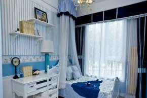 45平 一居 地中海 收纳 旧房改造 小资 布艺家纺 儿童房图片来自居佳祥和装饰在45平地中海装修案例的分享