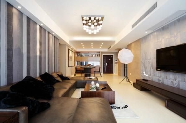 客厅+餐厅的设计