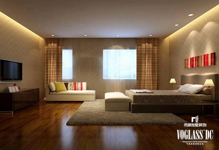 欧式 简约 别墅 好望山 卧室图片来自尚层别墅装饰在暖暖情怀,别致家居的分享