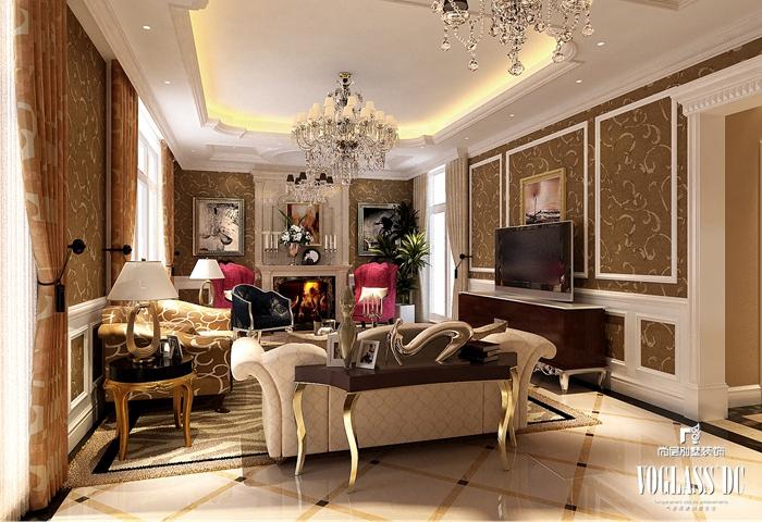 欧式 中式 别墅 颐和原著 客厅图片来自尚层别墅装饰在内敛古典与欧式的华丽碰撞的分享