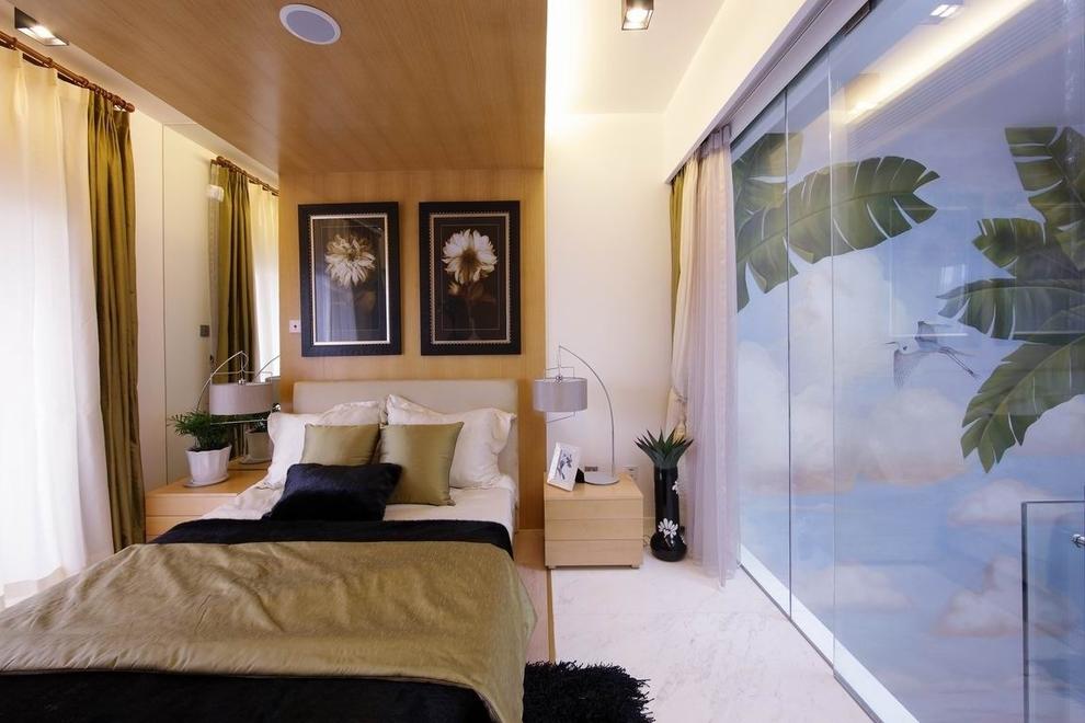 现代 温馨 舒适 小清新 旧房改造 80后 小资 收纳 白领 卧室图片来自周楠在北京香山别墅的分享