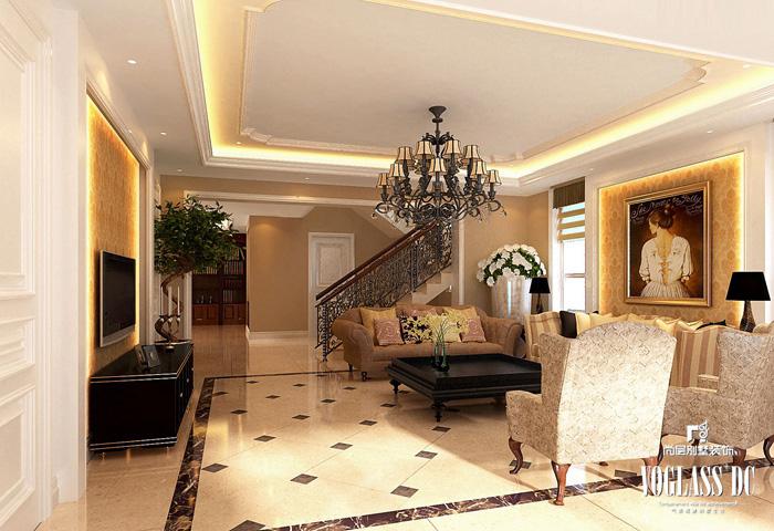 简约 混搭 别墅 收纳 壹仟栋 客厅图片来自尚层别墅装饰在洗尽铅华与浮躁的沉淀美的分享