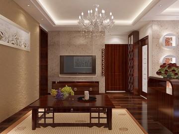 融侨上院-东南亚风格-两居室装修