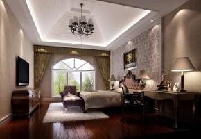 鲁能7号院 高度国际 时尚 白富美 三居 白领 80后 欧式 简约 卧室图片来自北京高度国际装饰设计在黑白交替的美的分享