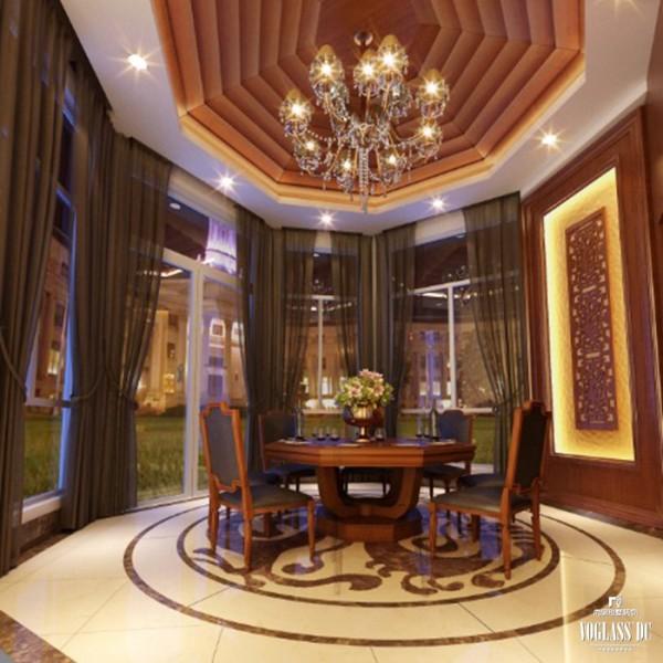 餐厅的妩媚的纱幔是纯东南亚风情的配饰品,让人不禁想起泰国人身上那五彩斑斓的服装以及绚烂多彩的民族文化。简单的纱幔,营造的是美丽而又自然的异域风情。