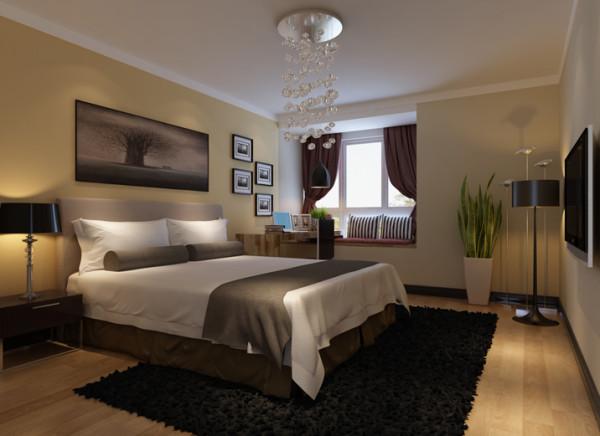 【成都实创装饰】典雅欧式 三居—温馨的三口之家—整体家装—卧室装修效果图