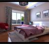 简单 优雅两室婚房设计
